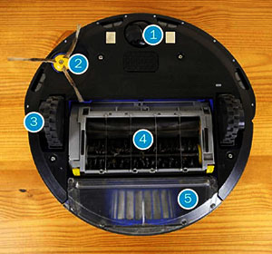 Roomba 650 Dimensions