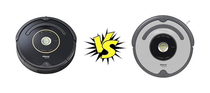 Roomba 650 vs. 655