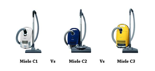 Miele C1 vs C2 vs C3 Comparison