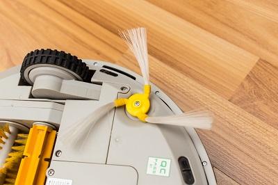 Under Robotic Vacuum